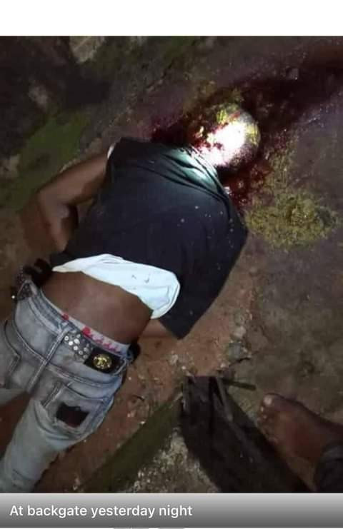 Two persons shot dead as rival cult groups clash at Federal Polytechnic Nekede (graphic photos)