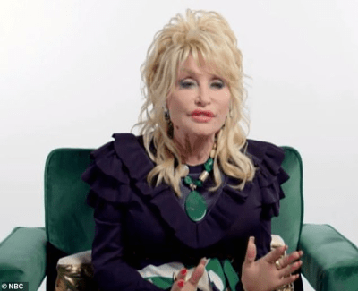 Dolly Parton, 75, says she doesn't have 'time to be old' and admits she'll 'look as young' as her plastic surgeon allows