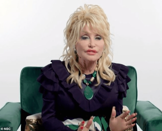 Dolly Parton, 75, says she doesn