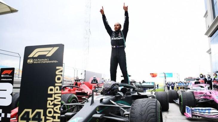 Lewis Hamilton makes history as he wins his seventh Formula 1 title