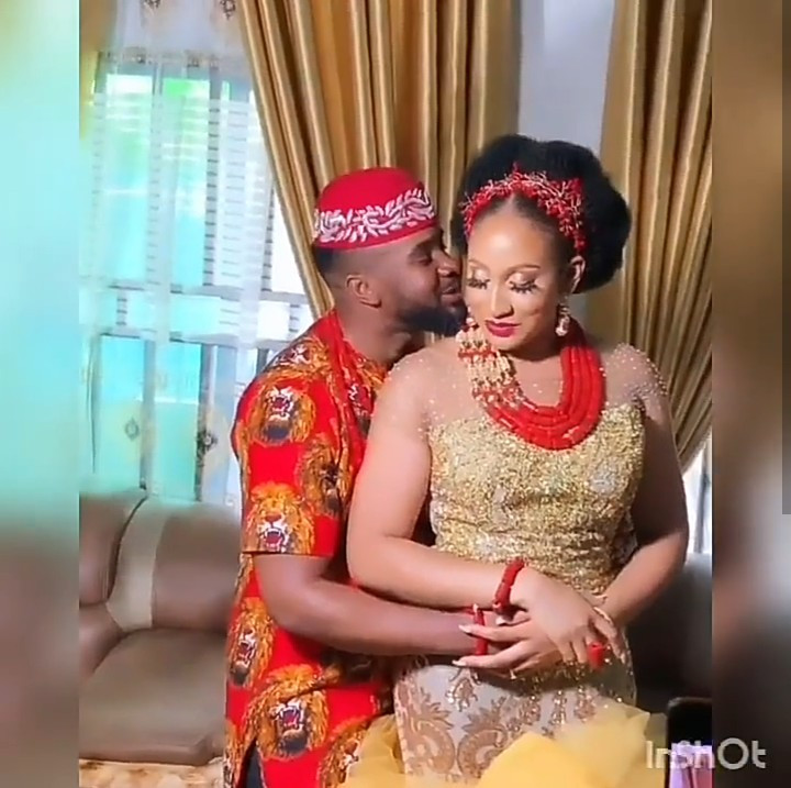 Photos and videos from actor Williams Uchemba's traditional marriage