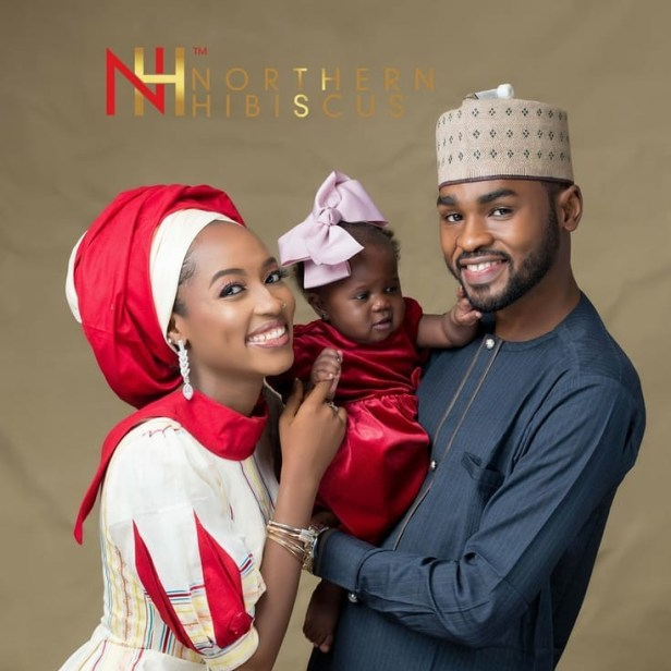Nigerian couple who battled infertility for six years welcomes triplets three years after adopting a baby girl