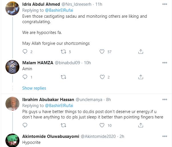Muslims call out Bashir El-Rufai over