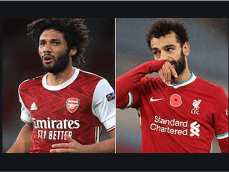 ?Mohamed Salah and Mohamed Elneny test positive for coronavirus again