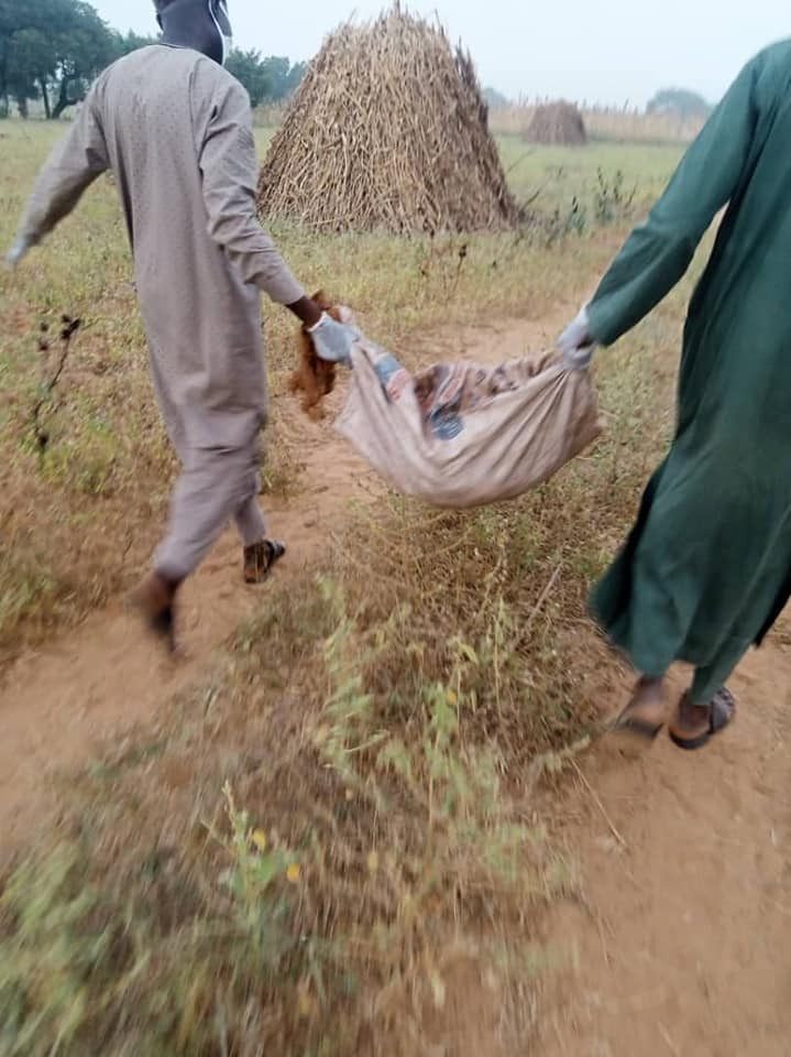 Kano Police recover decomposed body of 8-year-old girl killed by kidnapper after collecting N500,000 ransom (photos)