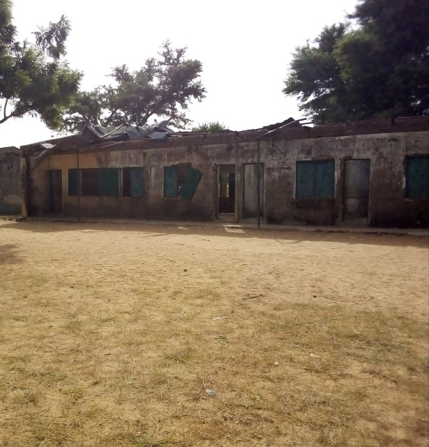 Kano youths express concern about a dilapidated school in the state