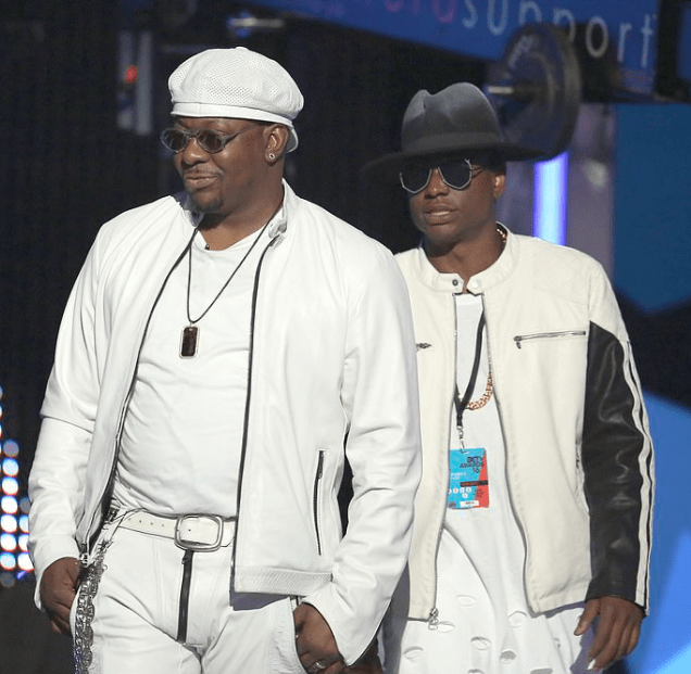 Grief-stricken Bobby Brown is seen for the first time since the tragic death of his son