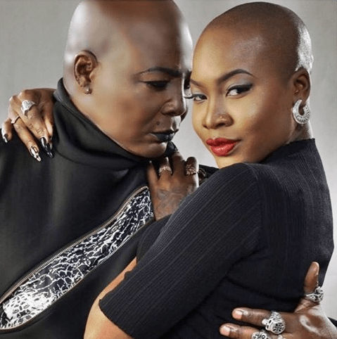 Charly Boy blasts followers criticizing him for accepting and loving his lesbian daughter after she came out to him