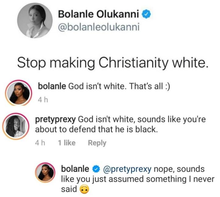 Stop making Christianity white. God isn