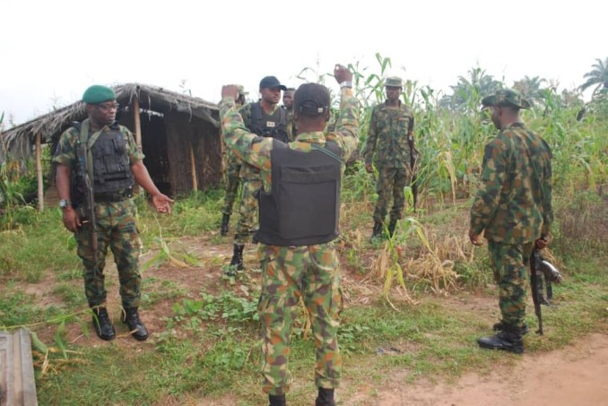 Suspected kidnappers arrested in Edo as Army raids riverine communities (photos)