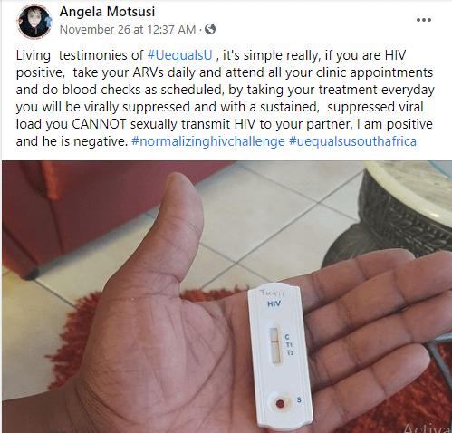 Nurse who is HIV positive reveals how she