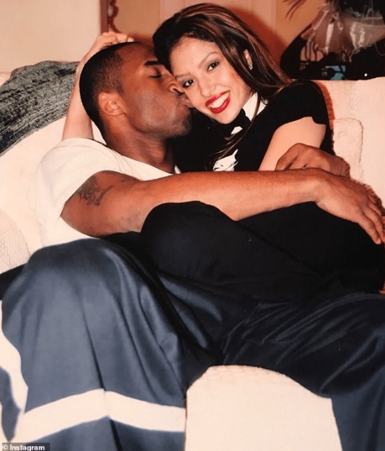 """""""Love at first sight"""" Vanessa Bryant says as she honors late husband Kobe Bryant on the anniversary of their first meeting in 1999"""