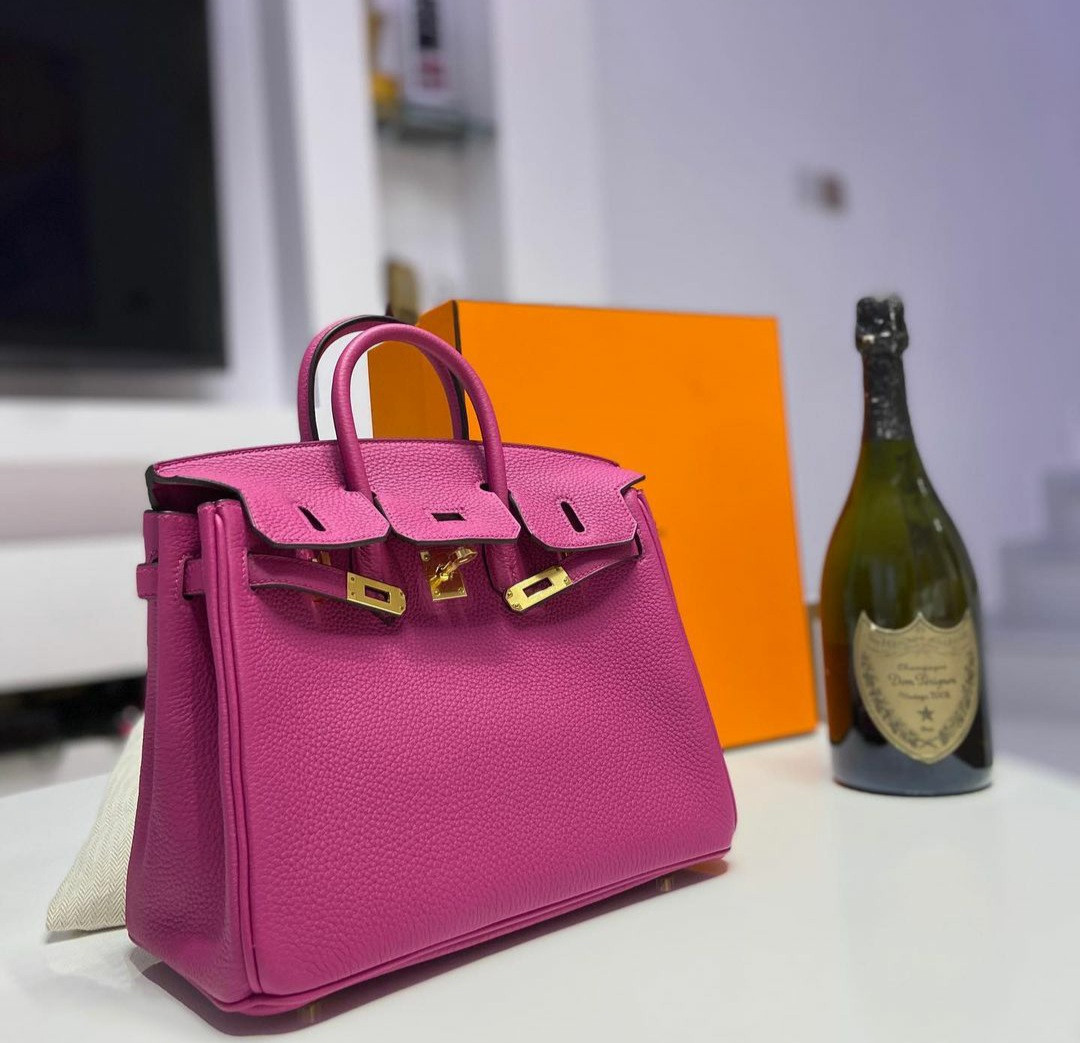 Lilian Afegbai encourages her followers after she bought a Birkin bag worth $22K