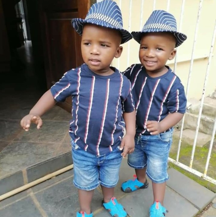 """""""They came into our lives together, they left together"""" - South African man mourns his 2-year-old twin grandsons who drowned in swimming pool"""