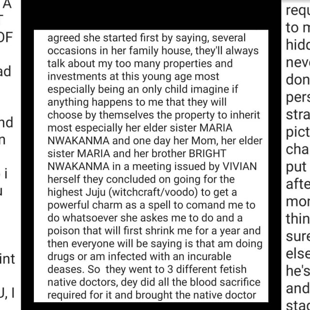 Singer Duncan Mighty accuses his wife, Vivien, and her family of allegedly plotting to kill him and take over his properties