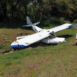 Plane crashes in Isiolo, Kenya (photos)