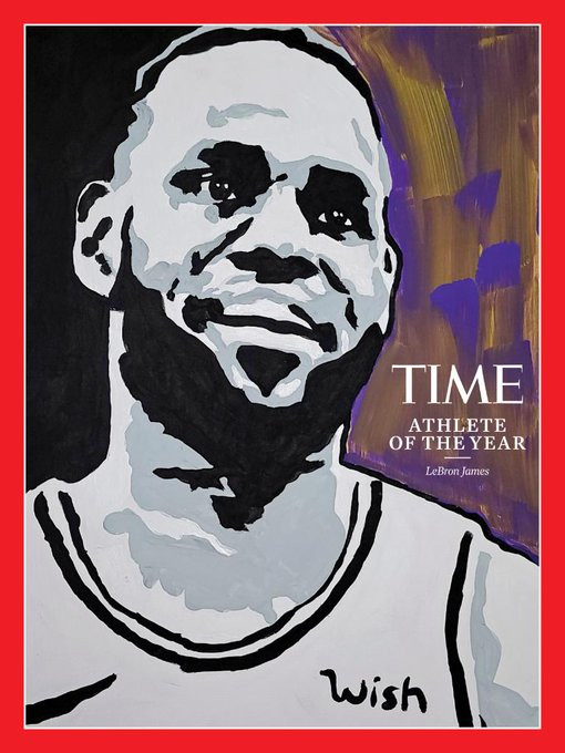 LeBron James named TIME?s 2020 Athlete of the Year