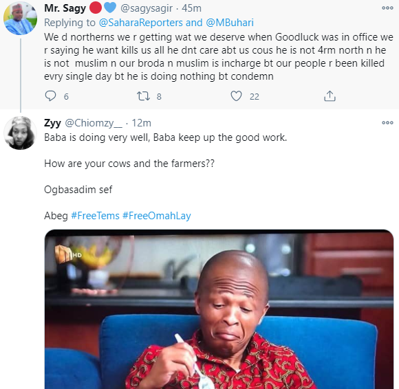 Nigerians react to video of President Buhari visiting his cows hours after students were abducted in Katsina