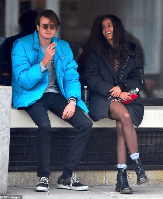 Barack Obama reveals his daughter Malia?s British boyfriend quarantined with the family in the early days of the pandemic