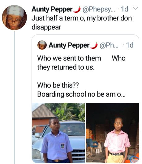 """""""Who we sent vs who they returned to us""""- Nigerian lady expresses shock over her brother"""