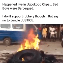 Mob throws two suspected robbers on fire in Delta for allegedly raping a pregnant woman