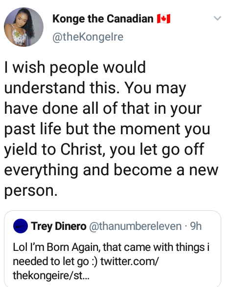 """""""Before you DM me, I am a Christian and I believe in waiting till marriage for sexual relations"""" - Nigerian lady informs intending suitors"""