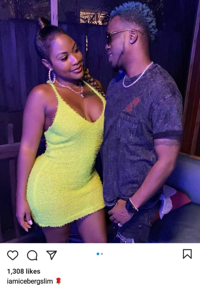 Nigerian rapper, Iceberg Slim shows off his new woman years after split from Juliet Ibrahim over infidelity