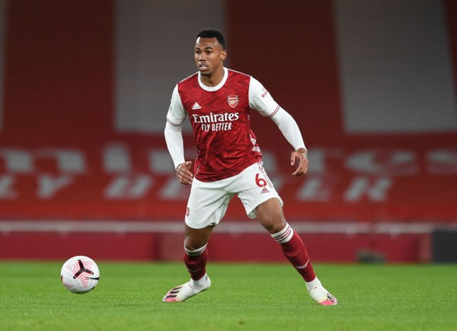 Arsenal defender, Gabriel Magalhaes tests positive for COVID-19