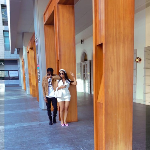 9ice, wife and daughter enjoy their vacation in Dubai (photos)