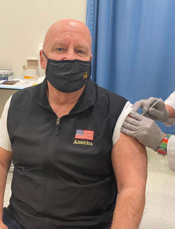 U.S. Congressman, Kevin Brady tests positive for COVID-19 two weeks after receiving first dose of  Pfizer vaccine