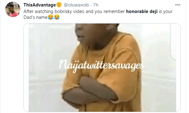 Honorable Deji trends after Bobrisky mentioned the name while teaching women how to moan during s3x (video)