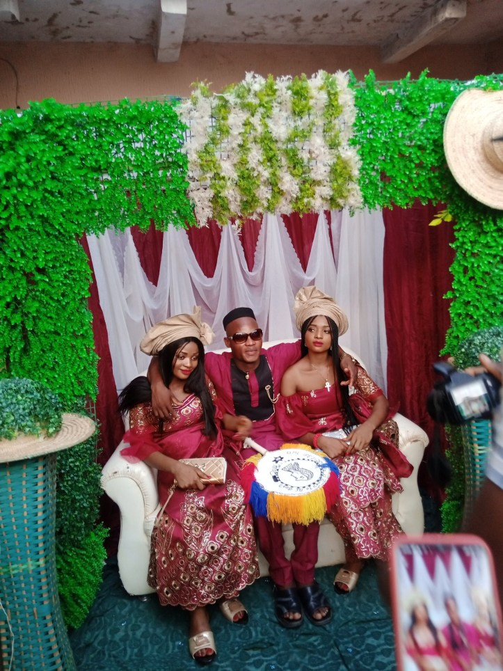 Nigerian man marries twins because
