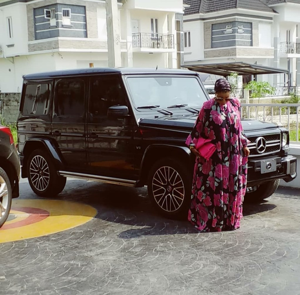 Liz Anjorin reveals she's now the proud owner of a Mercedes Gwagon
