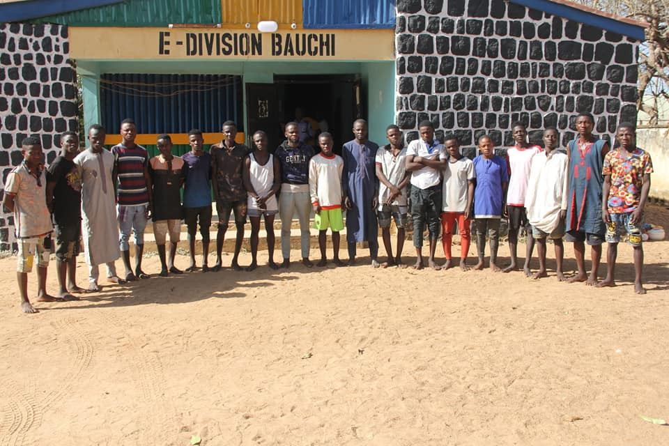 20 arrested as Bauchi police bust suspected criminal syndicates notorious for organizing sex parties, phone snatching, thuggery