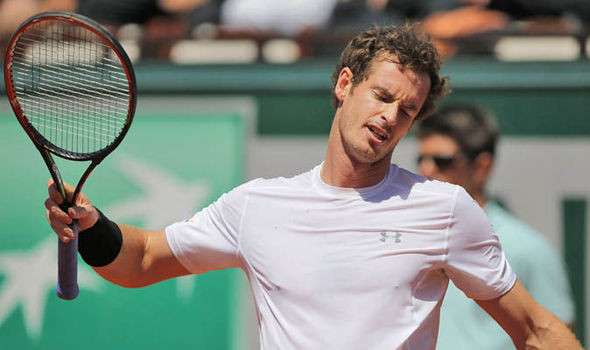 Tennis star, Andy Murray