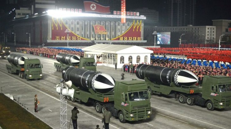"North Korea unveils new submarine-launched missile called ""the world's most powerful weapon"", North Korea unveils new submarine-launched missile called ""the world's most powerful weapon"", Premium News24"