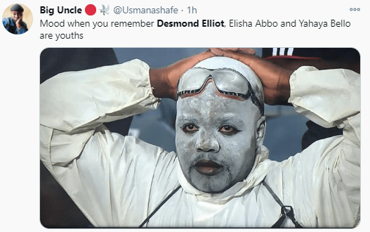 Desmond Elliott trends after he was compared with Ugandan singer and presidential candidate, Bobi Wine