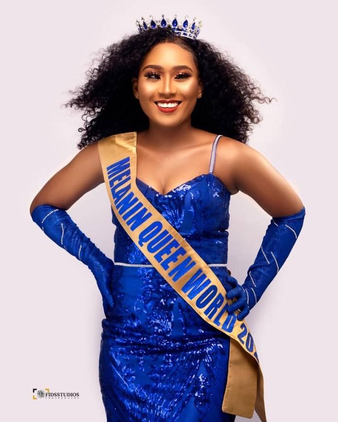 Faith Ajayi wins The Melanin Queen Nigeria World beauty pageant