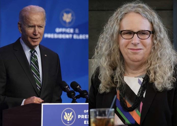 Joe Biden makes history by picking transgender doctor as assistant health secretary