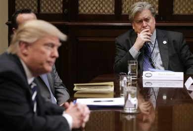 Trump pardons his former chief strategist Steve Bannon before he departs the White House for a final time