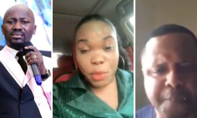 Wife of Pastor Mike Davids who accused Apostle Johnson Suleman of sleeping with her, breaks her silence (video)