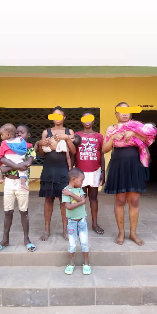 Police Uncover Another Child Trafficking Syndicate In Anambra (Photos)