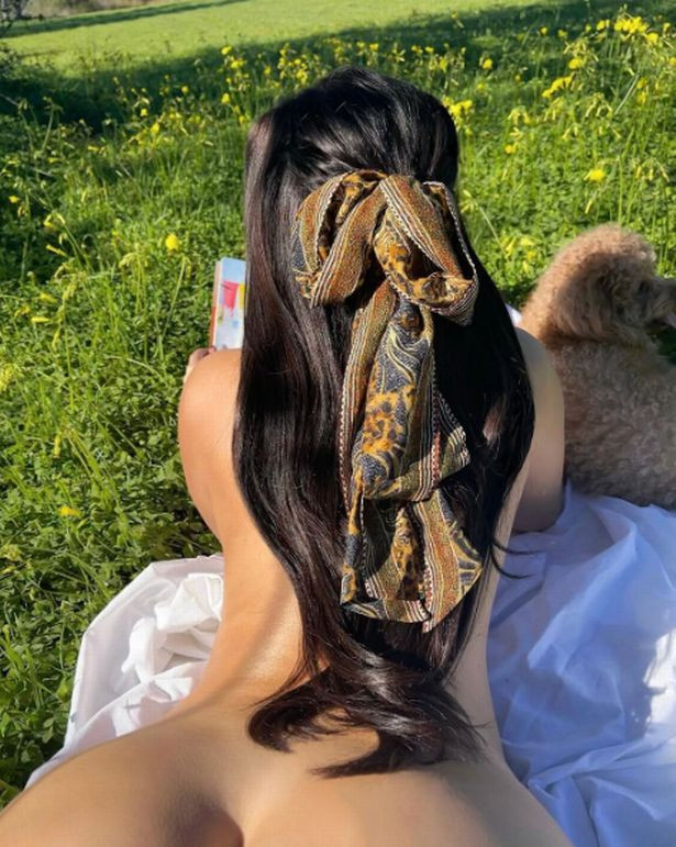 Demi Rose strips totally naked?in public display