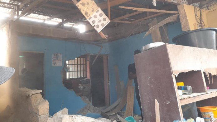 Cross River Govt demolishes building belonging to an alleged kidnapper