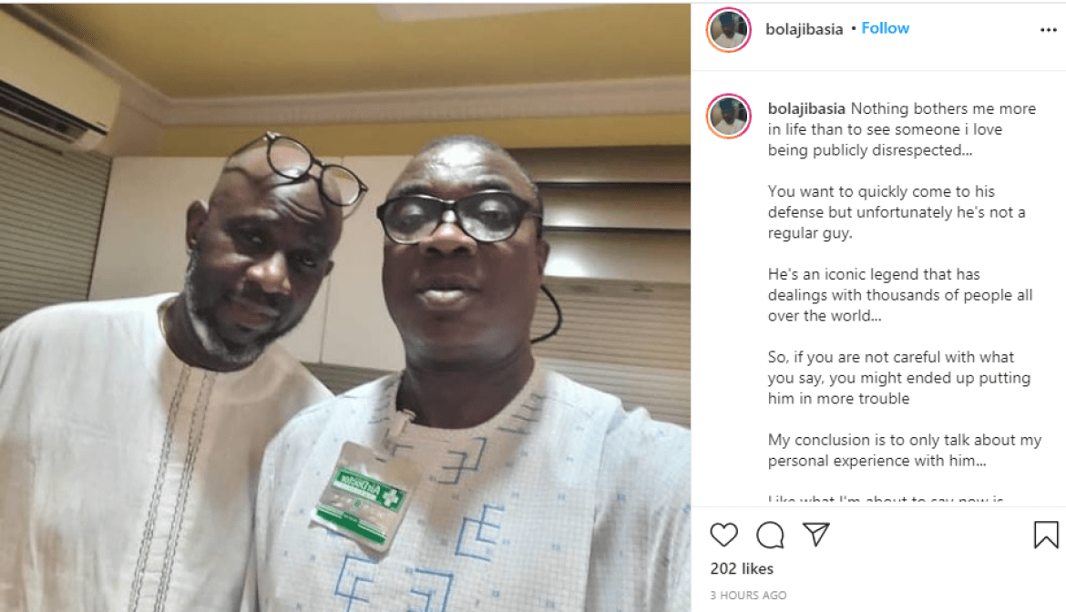 Socialite Bolaji Basia narrates how his best friend, KWAM 1 bought him a property of N20m as 60th birthday present