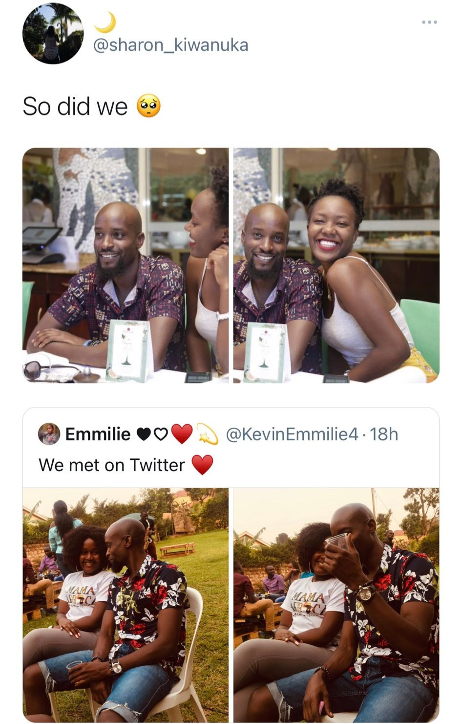 Three women find out on Twitter they are all dating the same man after one celebrated him