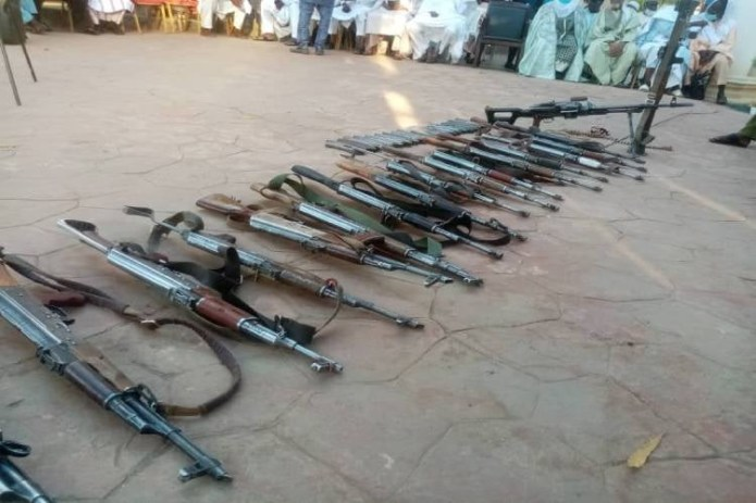 Alleged mastermind of Kankara schoolboys abduction repents and surrenders his rifles to Zamfara state govt