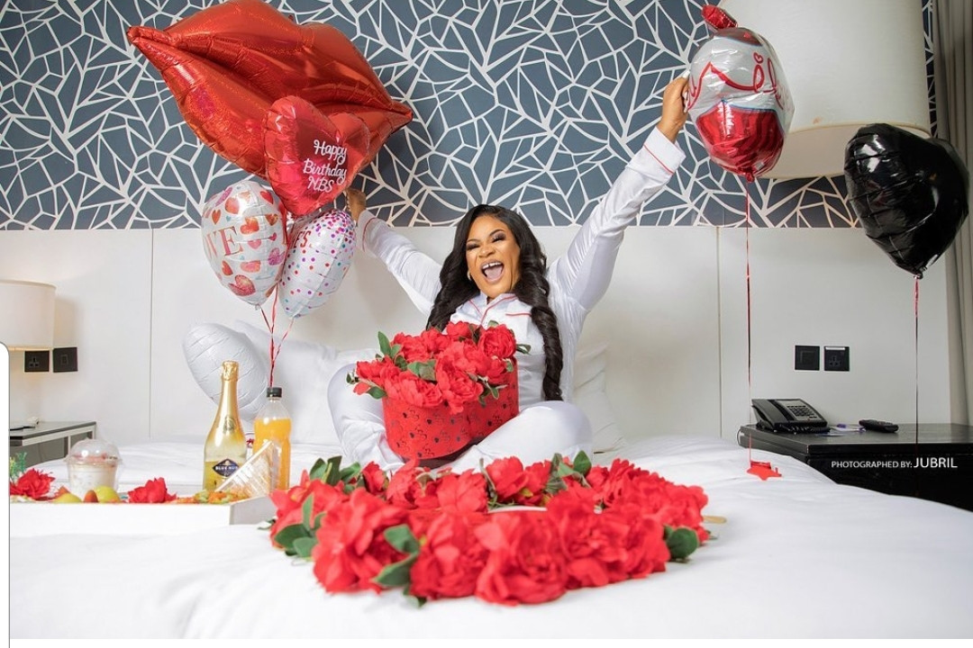 Actress, Nkechi Sunday Blessing celebrates her 32nd birthday with hot new photos