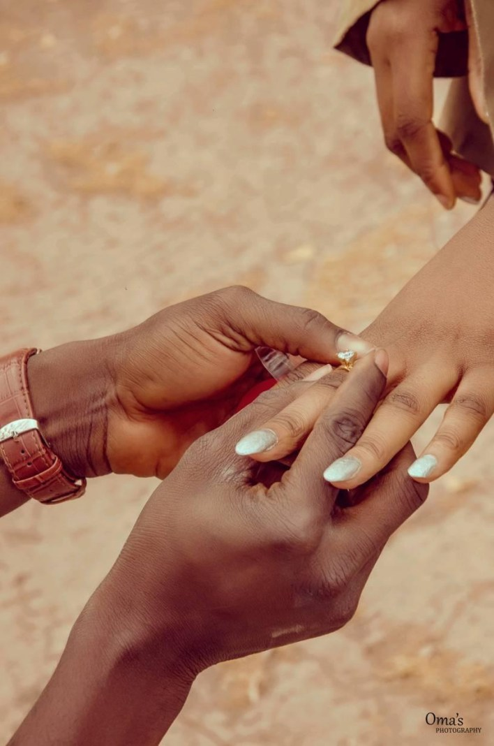 NYSC gave me a wife ? Man says as he proposes to fellow corps member on their POP day (Photos/Video)