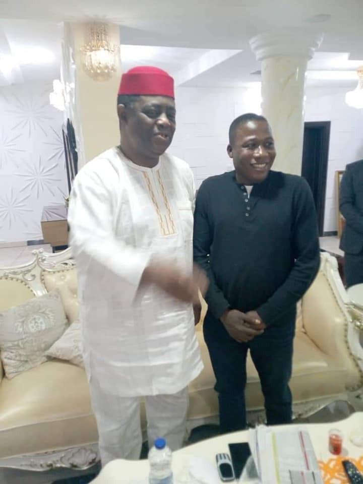 Femi Fani-Kayode meets with Yoruba activist, Sunday Igboho  (photos)